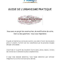 Guide de l'urbanisme pratique